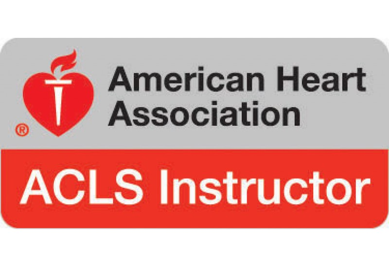 ACLS Instructor Course on Monday, September 23, 2019 (8:00 am - 5:00 pm)